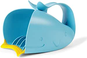SKIP HOP Moby Bath冲洗杯:无泪瀑布式冲洗器,蓝色