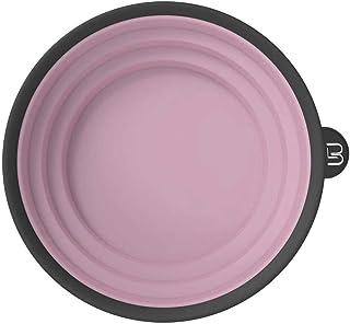 3 级可折叠彩色碗 – 用于混合、染色和所有着色需求 – 耐漂白和化学品 – 紧凑尺寸,方便使用(粉色)