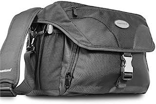 Mantona Neolit I 相机单肩包(快速拿取,尘盖,单肩包,设备口袋)270033 18x28x14cm 黑色