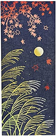 Miyamoto 毛巾 擦手巾 十五夜 中秋名月 36×90厘米 注染手巾 50088