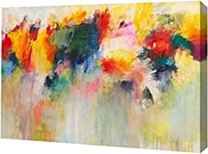 "PrintArt GW-POD-41-COH-46X-20x14""Farbklange IV"" 由 Christa Ohland 画廊装裱艺术微喷油画艺术印刷品 16"" x 11"" GW-POD-41-COH-46X-16x11"