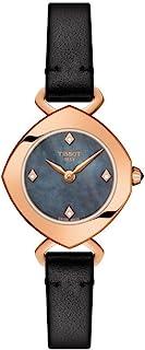 Tissot 女式 T 钻石蓝色表盘女式手表 T113.109.36.126.00