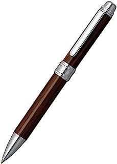 日本白金 Platinum 木杆 2色(黑、红)0.7mm圆珠笔+0.5mm自动铅笔 MWB-5000CW#58
