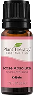 Plant Therapy Rose Absolute 精油 * 纯净、未稀释、天然芳香*,*级 10 毫升(1/3 盎司)