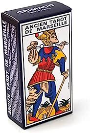 Grimaud 法国马赛法文版塔罗牌-卡通片