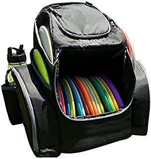 Throwback Pack 2.0 - 圆盘高尔夫背包,带双冷却器 - Frisbee 飞盘高尔夫包,可容纳 20-25 盘子
