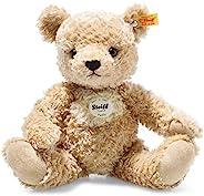 Steiff 014253 原装毛绒玩具,泰迪熊毛绒玩具约30厘米,品牌毛绒,带耳朵,适合宝宝出生的婴儿,金棕色