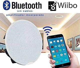 Wiibo   Spirit 90 BT 扬声器   内置无线放大器蓝牙白色采暖扬声器  功率 30W + 30W   内置无线放大器   颜色:白色   金属网格