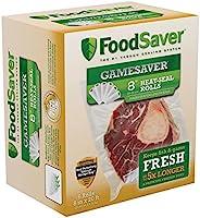 """FoodSaver GameSaver 6-Pack, 8"""" x 20' L"""