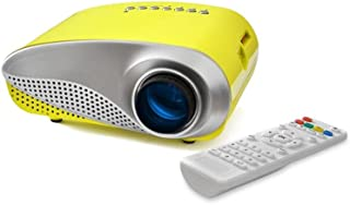 FAVI RioHD-LED-K1-Y Movie and Game Projector for Kids (Yellow)