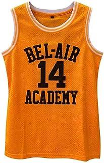 Mandelaf jsha 新款 14 Bel Air Academy 球衣 # 篮球运动衫 儿童/青年