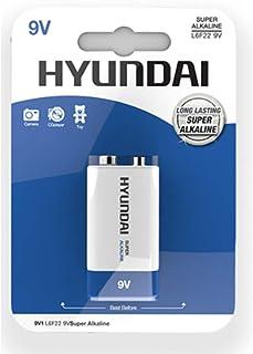 Hyundai Super Alkaline 9V 电池 52 g