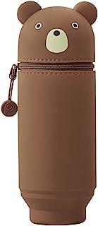 "LIHIT LAB. PuniLabo Big Stand Up Pen Case (Pen Holder), 2.9 x 8.3"", (A7714-1)"