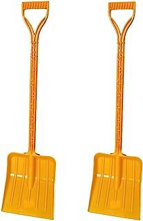 Rocky Mountain Goods 儿童雪铲 - 尺寸适宜的雪铲,适合 3 至 12 岁儿童 - 比金属雪铲更* - *的单件塑料防弯曲设计