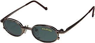 SmartClip 253 男士/女士设计师全框太阳镜镜头夹扣式柔性铰链眼镜/眼镜眼镜