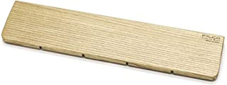 FILCO Genuine 木制护腕 M尺寸〔宽360mm〕使用北海道产天然木材 奥斯摩色加工 日本制造 棕色 FGWR/M