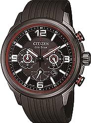 Citizen 西铁城 男式模拟光动能手表聚氨酯表带 CA4386-10E