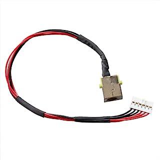 GinTai AC直流电源插孔带电缆插头充电端口更换适用于宏碁Nitro 5 AN515-53-52FA A715-71G-71NC DC301010K00