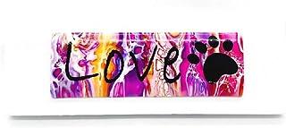 Pizazz Studios Love Paw 壁挂瓷砖帆布艺术