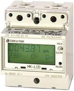 Circutor MK-30 LCD 单相电表,用于低电压网络,带数字显示(商品编号:M30120)