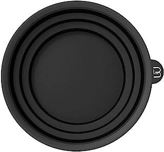 3 级可折叠彩色碗 – 用于混合、染色和所有着色需求 – 耐漂白和化学品 – 紧凑尺寸,方便使用(黑色)