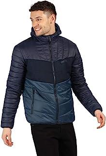 Regatta 男式 Frostblast 轻质防水保暖连帽绗缝夹克