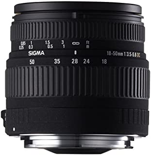 Sigma 18-50mm f/3.5-5.6 DC 球面变焦镜头,适用于宾得和三星数码单反相机