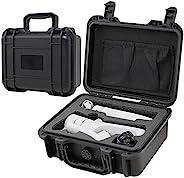 DJI OM 5 专业硬质手机壳智能手机万向节稳定防震防水保护套兼容 DJI OM 磁性手机夹 2、手柄三脚架和其他配件