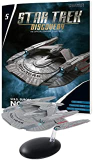Eaglemoss Star Trek Discovery 官方星舰系列:#05 U.S.S.Europa NCC-1648 船,多色