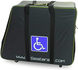 NRS Healthcare 可轮式手提箱,适用于折叠淋浴座椅(适用于英国增值税缓解)
