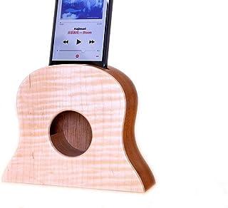 i-Aco 木制 iPhone用Acostics Parker Freim/桃花心木