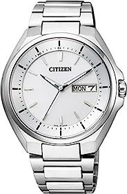 [西铁城]CITIZEN ATTESA 光动能电波表 日期显示 AT6050-54A 男士
