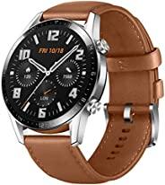 HUAWEI 華為 Watch GT 2 包括禮品券 [亞馬遜*]55024321 Watch Pebble Brown