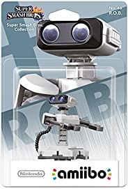 Amiibo No.46 Smash R.O.B. 白色,灰色