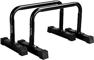 TIT COOPOPE 力量训练蘸水支架 重型浸水支架 健身锻炼 浸水站 稳定器 倒立架 适用于家庭健身房强度训练锻炼设备 600 磅