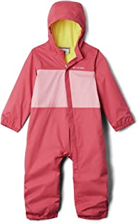 Columbia 哥伦比亚 男婴 Critter Jitters 雨衣 防水透气 抓绒内衬