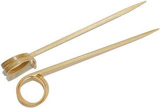 Garcia de Pou 螺旋拨片盒装,竹子,天然,30 x 30 x 30 厘米