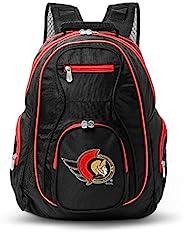 Denco NHL 彩色裝飾高級筆記本電腦背包,19 英寸