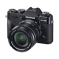 Fujifilm 富士相机16619982 X-T30 Schwarz mit XF18-55 mm 黑色
