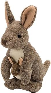 "Wild Republic CK-Mini 袋鼠,带 Joey 8 英寸动物毛绒玩具 8"" Cuddlekins"