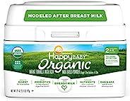 Happy Baby 2段 婴幼儿配方含铁奶粉,21盎司(595g),双益生元,Non-GMO,不含麸质,不含玉米糖浆固体