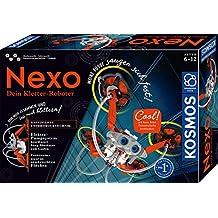 KOSMOS - Nexo - 你的攀岩机器人,可向儿童房使用机器人玩具,快速组装,电动泵系统,实验箱适用于6岁以上儿童。