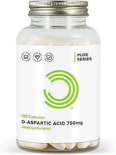 BULK POWDERS 750 mg D Aspartic Acid Capsules - Pack of 120