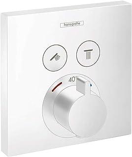 Hansgrohe 汉斯格雅 嵌入式淋浴花洒 Theromstat Select,2种功能,哑光白色