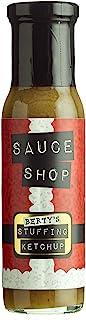 酱汁店-Berty 的馅番茄酱-馅味番茄酱,圣诞老人瓶子设计,完美的圣诞晚餐酱,255 克