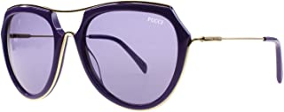 新款 Emilio Pucci 太阳镜女式 EP 0016 16 紫色 81Y EP0016 56mm