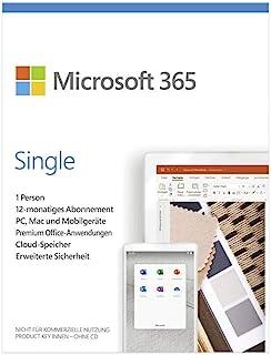 Microsoft 微软 365 Single,Ohne Zusatz-Angebot