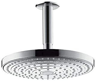 HANSGROHE HG Raindance Select S 240 淋浴头 Brushed Nickel 3.25 x 9.63 x 9.63 inches 26469821