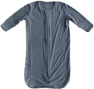 MK & CO. OrganicS 睡袍 - 中性款婴儿睡袍由软竹纤维制成,0-3 个月