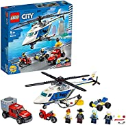 LEGO 乐高 城市系列 警察直升机追踪 60243